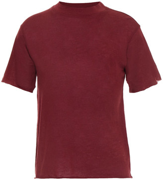 Live The Process Cotton And Cashmere-blend Jersey T-shirt