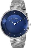 Skagen Women's SKW2293 Gitte Analog Display Analog Quartz Silver Watch