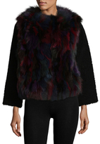 Zadig & Voltaire Fauvy Deluxe Fox Fur Jacket