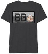 Star Wars Boys' BB8 T-Shirt - Charcoal