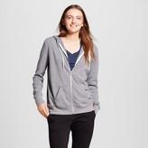 Mossimo Women's Zip Up Sweatshirt