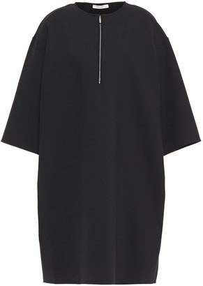 The Row Latif Oversized Scuba Mini Dress
