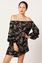 Azalea 3/4 Sleeve Ruffle Dress