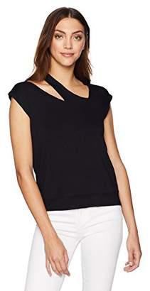 Bailey 44 Women's Monsoon Short Sleeve Cutout Sweatshirt