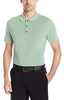 Izod Men's Short-Sleeve Clubhouse Stripe Jersey Golf Polo Shirt