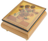 Ercolano NEW Sunflowers Musical Jewellery Box
