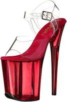 Pleaser USA Women's Flamingo-808T Flatform Sandals,37 EU