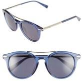 Loewe 51mm Keyhole Round Sunglasses
