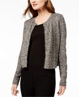 Eileen Fisher Open-Front Organic Linen Cardigan, Created for Macy's