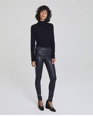 AG Jeans The Farrah Skinny - Leatherette Lt Deep Trenches