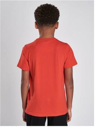 Barbour International Boys Block Logo T-Shirt - Orange