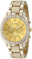 Vernier Women's VNR11173BG Analog Display Japanese Quartz Two Tone Watch