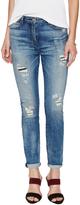 3x1 Women's Mid Rise 5 Pocket Skinny Jean