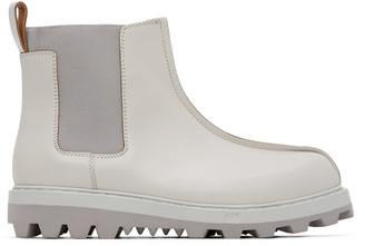 Oamc Off-White Exit Chelsea Boots