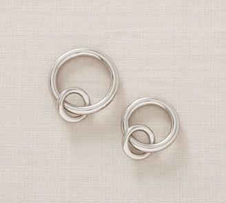 Pottery Barn PB Standard Curtain Round Rings - Brass Finish