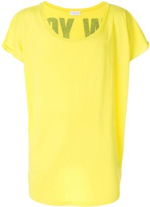 Faith Connexion boat neck T-shirt