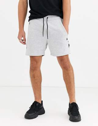 Jack and Jones Intelligence jersey short with taping in grey