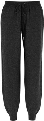 Johnstons of Elgin Josephine Charcoal Cashmere Sweatpants