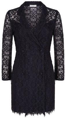 Sandro Paris Lace Blazer Dress