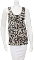 Chloé Printed Sleeveless Blouse