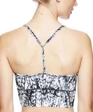 Nolita Gaiam X Jessica Biel Women's Bras BLACK - Black Abstract Mesh-Accent Bralette