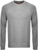 BOSS ORANGE Wheel Sweatshirt Grey