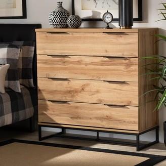 Union Rustic Fincham 4 Drawer Dresser