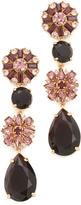Kate Spade Trellis Blooms Statement Linear Earrings