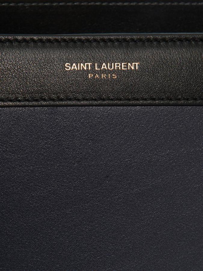 Saint Laurent Sac De Jour medium leather tote