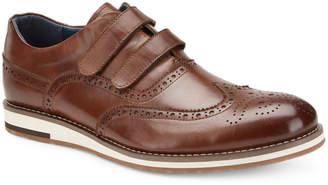 Vintage Foundry Men's Martin Grip-Strap Leather Oxfords