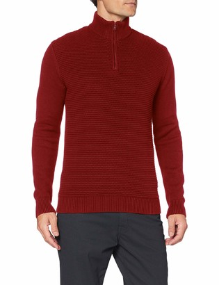 Wrangler Men's Half Zip Knit Sweater