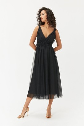 Coast Tulle Skater Midi Dress