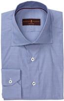 Robert Talbott Tailored Fit Micro Check Dress Shirt