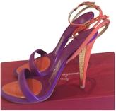 Salvatore Ferragamo Purple Sandals