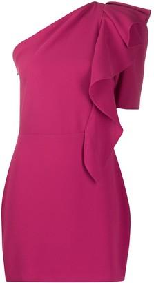 IRO Ruffle One-Shoulder Dress