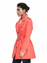 Banana Republic Belted Cotton Trench