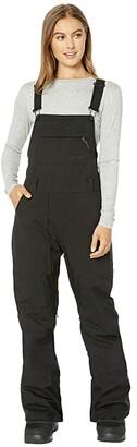 Burton Avalon Bib Pant (True Black 3) Women's Casual Pants