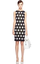 Alice + Olivia Dee Daisy Fitted Dress