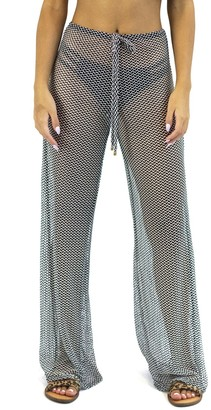 Jordan Taylor Women's Beachwear Herringbone Knit Pull-On Pants