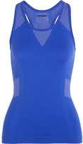 Ivy Park Printed Stretch-jersey Tank - Bright blue