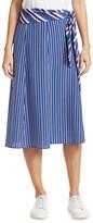 Rag & Bone Felix Silk Striped Skirt
