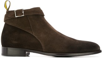 Doucal's buckle low-top boots