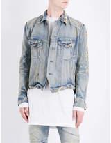 Julius Distressed denim jacket