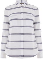 Oasis Casual Cotton Stripe Shirt