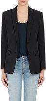 Helmut Lang Women's Faille Two-Button Shrunken Jacket-BLACK
