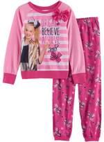 """JoJo Siwa Girls 6-12 JoJo Siwa """"Dream Believe Achieve"""" Top & Bottoms Pajama Set"""