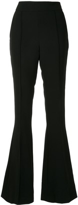 Maticevski High Waisted Flared Trousers
