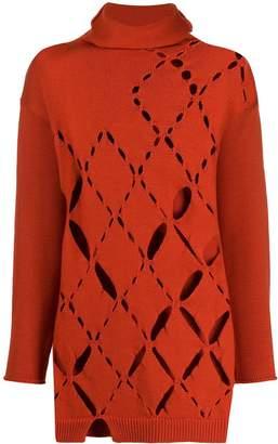Pierantonio Gaspari Pierantoniogaspari cut-out knitted jumper