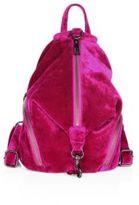 Rebecca Minkoff Julian Medium Velvet Backpack