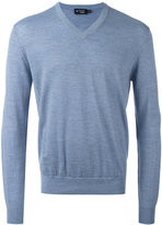 Hackett V-neck jumper - men - Merino - XXL